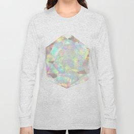 Milky White Opal Long Sleeve T-shirt