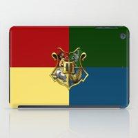 hogwarts iPad Cases featuring HOGWARTS - HOGWARTS by alexa