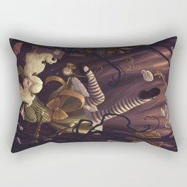 Alice Down the Rabbit Hole Rectangular Pillow