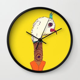 Bird-tree-man Wall Clock