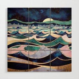 Moonlit Ocean Wood Wall Art