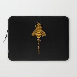 Bees Beekeeper Cute Bee Gift Bee Lover Laptop Sleeve