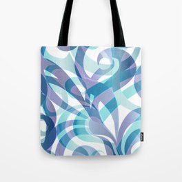 Floral abstract background G21 Tote Bag