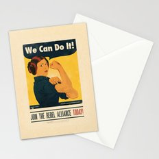 Leia the Riveter 2: The Alliance Strikes Back Stationery Cards