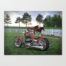 #KevinHarvick  #NASCAR V-8 Bike Canvas Print