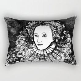 Queen Elizabeth I Portrait  Rectangular Pillow