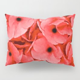 Veterans | Memorial Day | Remembrance Day | We Remember | Red Poppies | Nadia Bonello Pillow Sham