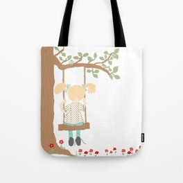 On the Swing, In the Tree Tote Bag