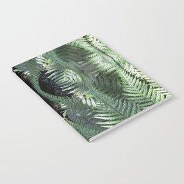 Bronx Botanical Garden Green Ferns Notebook