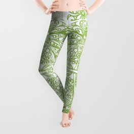 Color of the year doodle Leggings
