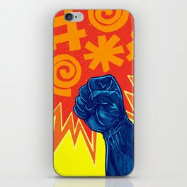 Superheroes SF iPhone Skin