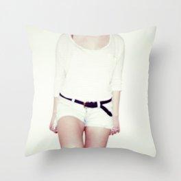 Monochrome Throw Pillow