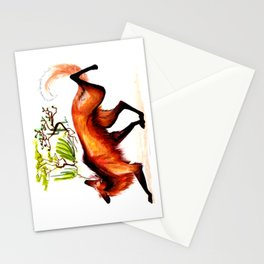 The Maned Wolf Stationery Cards