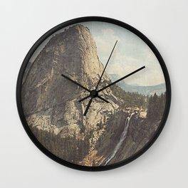 Nevada Falls Yosemite Wall Clock