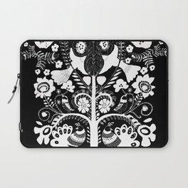kalamkari black Laptop Sleeve