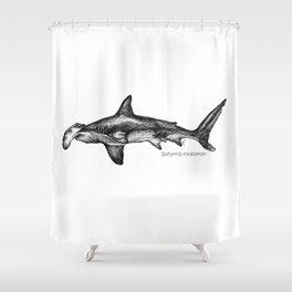 Sphyrna mokarran Shower Curtain