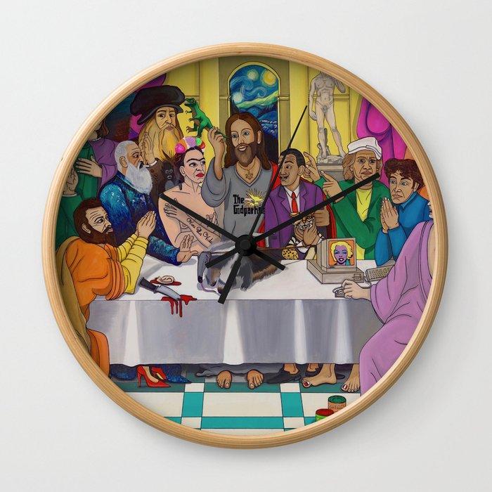 The ArtPostles Wall Clock