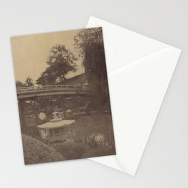 Japanese Bridge Stationery Cards