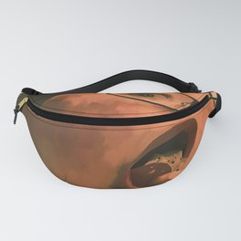 Cookies and creme Fanny Pack