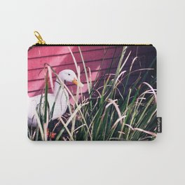 Quack Quack Country Barn Print Carry-All Pouch