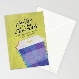 Coffee & Chocolate Stationery Cards