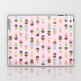 Pixel Ice Cream - Strawberry Laptop & iPad Skin