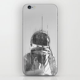 The Space Beyond B&W Astronaut iPhone Skin