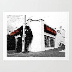 Corner pet shop Art Print