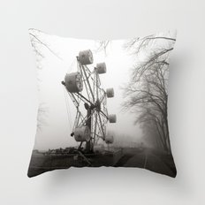 Amusements on the Road of Life Throw Pillow