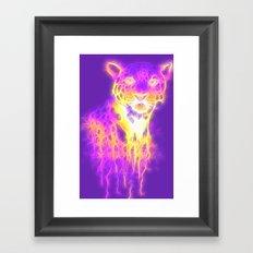 Webbed Jaguar Framed Art Print