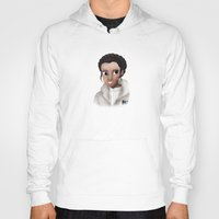 leia Hoodies featuring Leia by BellaG