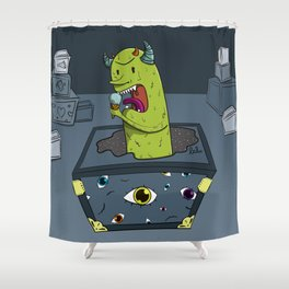 Pandora box Shower Curtain
