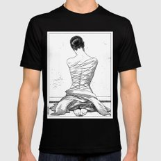 asc 597 - Les amatrices III (Sketchwork) Mens Fitted Tee Black X-LARGE