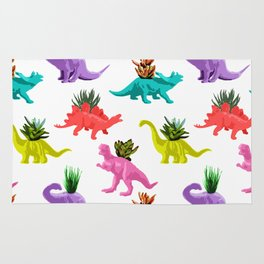 Dinosaur Planters Rug