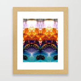 Ocean Worship Framed Art Print