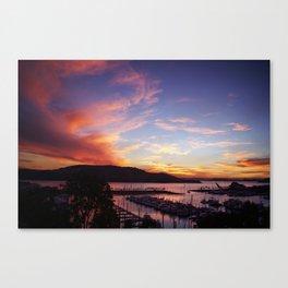 A Hamo Sunset Canvas Print