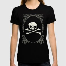 Poison Womens Fitted Tee X-LARGE Black