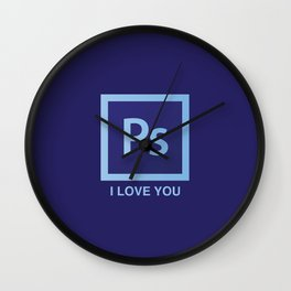 PS I LOVE YOU Wall Clock