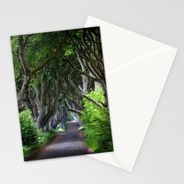Dark Hedges, Northern Ireland. Stationery Cards