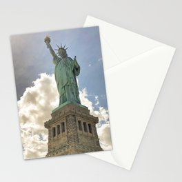 Monumental Lady Liberty Stationery Cards