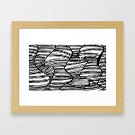 hearsay. Framed Art Print