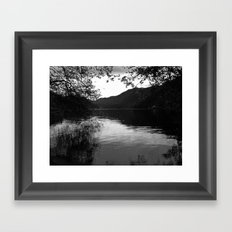Peace by the Water Framed Art Print