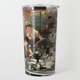 Renoir's Luncheon of the Boating Party & Grease Travel Mug