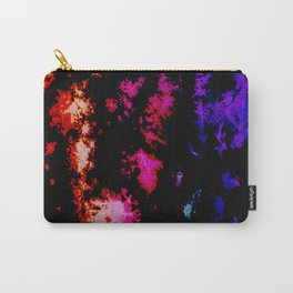 Dark Goth Galactic Rainbow Splatter Carry-All Pouch