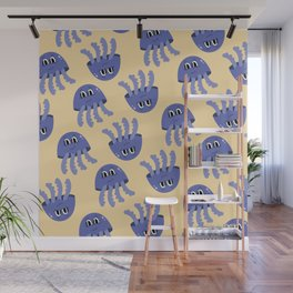 Jelly Fish pattern Wall Mural