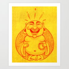Laughter Brightens the Soul Art Print