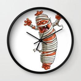 Mummy Sausage Party Yummy Oktoberfest German Wall Clock