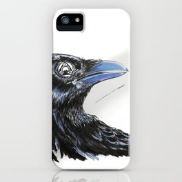 RHX Raven Logo iPhone Case