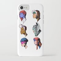 xmen iPhone & iPod Cases featuring spce girls by jason st paul