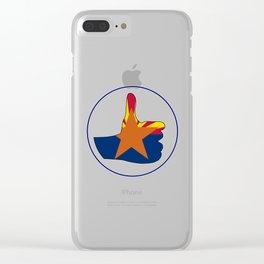 Thumbs Up Arizona Clear iPhone Case
